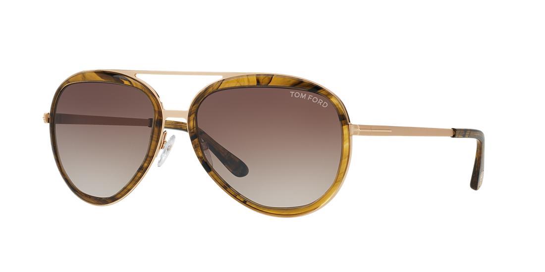 2cbaca3a2c686  395.00 More Details · Tom Ford Andy Rose Gold Aviator Sunglasses - ft0457