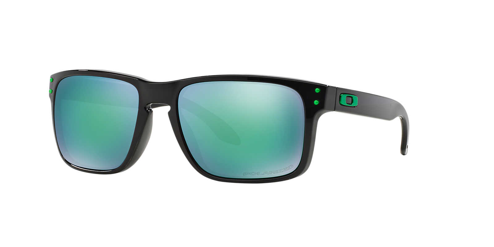 black and green oakley sunglasses