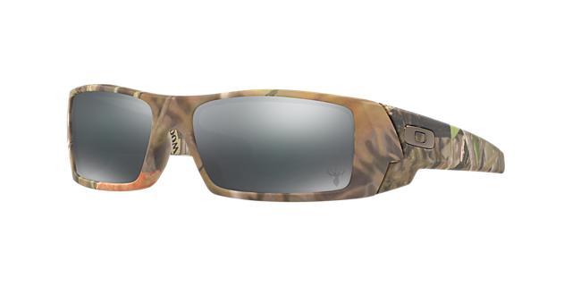 Oakley Gascan Brown Rectangle Sunglasses - oo9014 700285829524