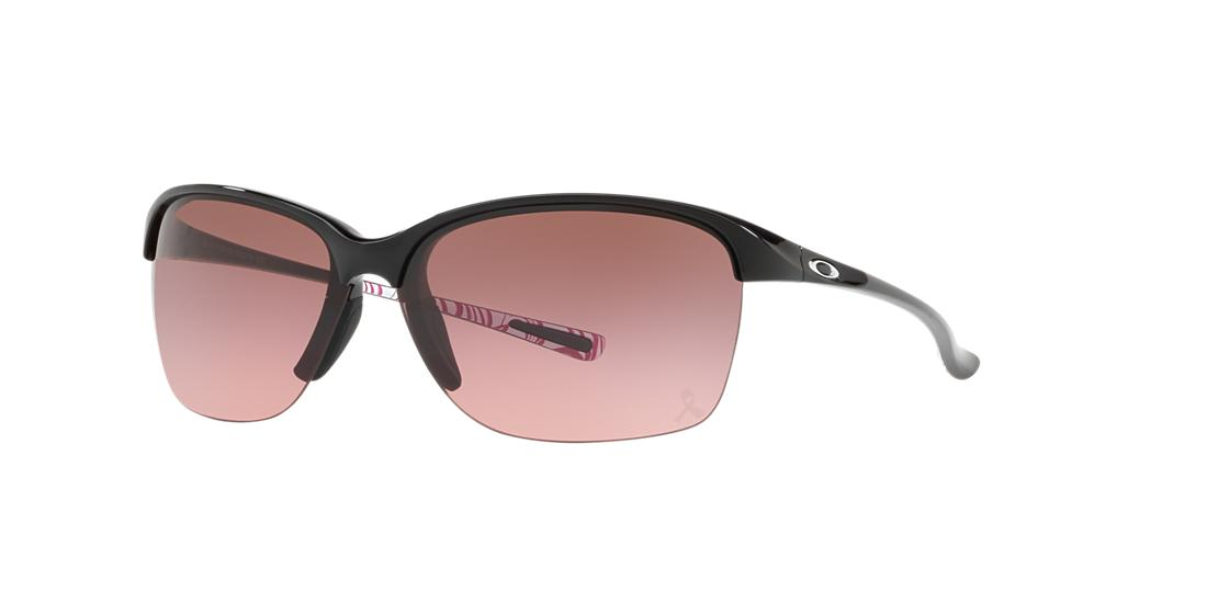 Click here for Oakley Womens Unstoppable Black Wrap Sunglasses -... prices