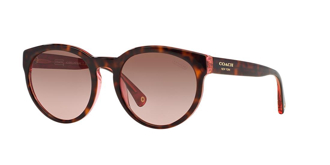 87e242d950e9 ... where can i buy 220.00 more details coach kylie pink round sunglasses  hc8056 468df 99a02