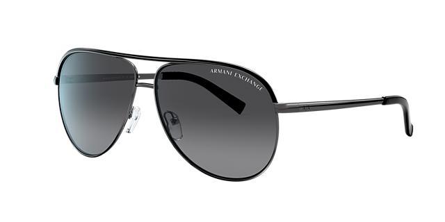 Image of Armani Exchange Multicolor Aviator Sunglasses - ax2002
