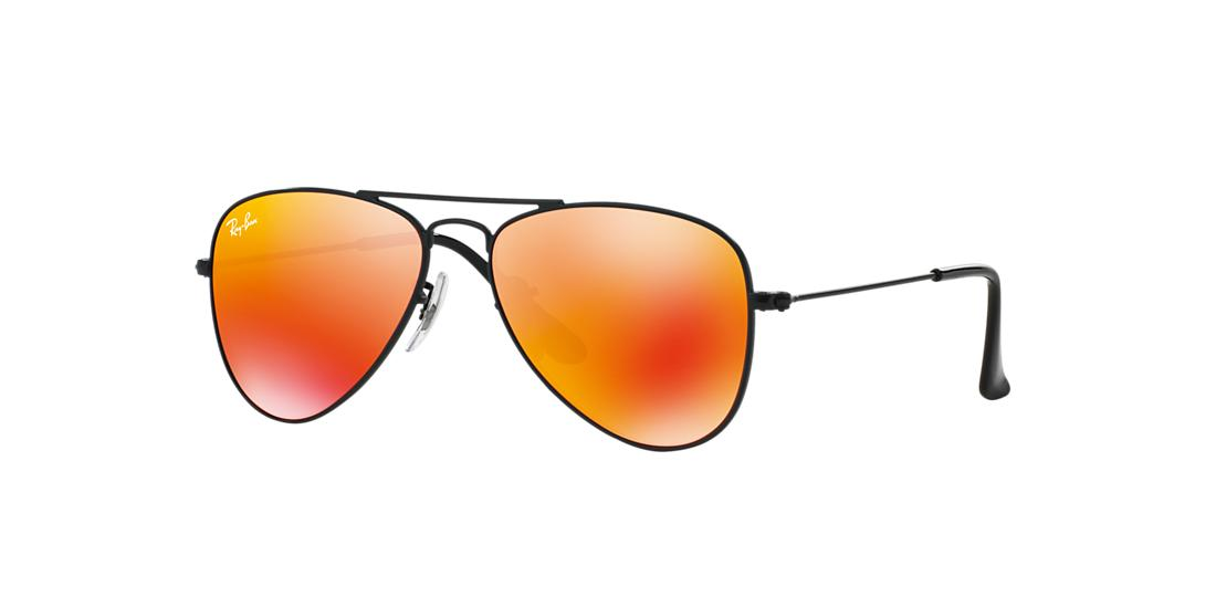 4296c5fb609 SKU- Ray-Ban Jr. Black Matte Aviator Sunglasses - rj9506s from Sunglass Hut
