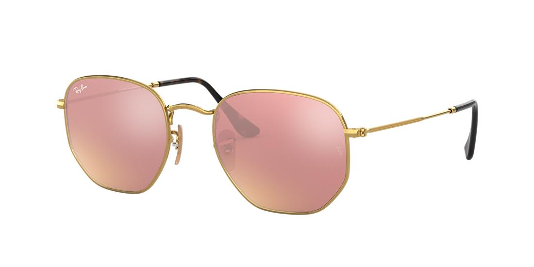 478b52dd3b485 SKU- Ray-Ban Gold Square Sunglasses - rb3548n from Sunglass Hut sku