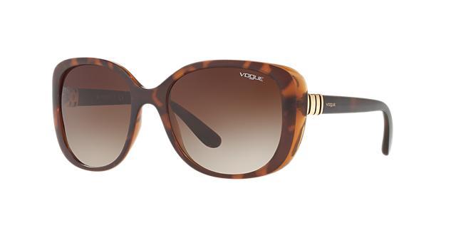 Vogue Eyewear Tortoise Rectangle Sunglasses - vo5155s 8053672725056