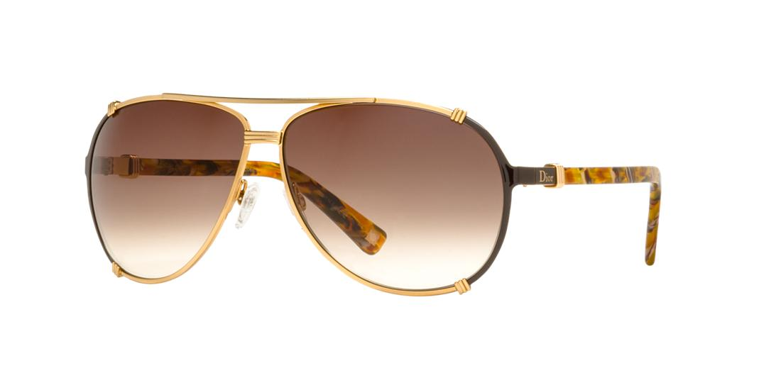 99aa1bb6d3f7 SKU- Dior Gold Aviator Sunglasses - chicago 2 from Sunglass Hut sku