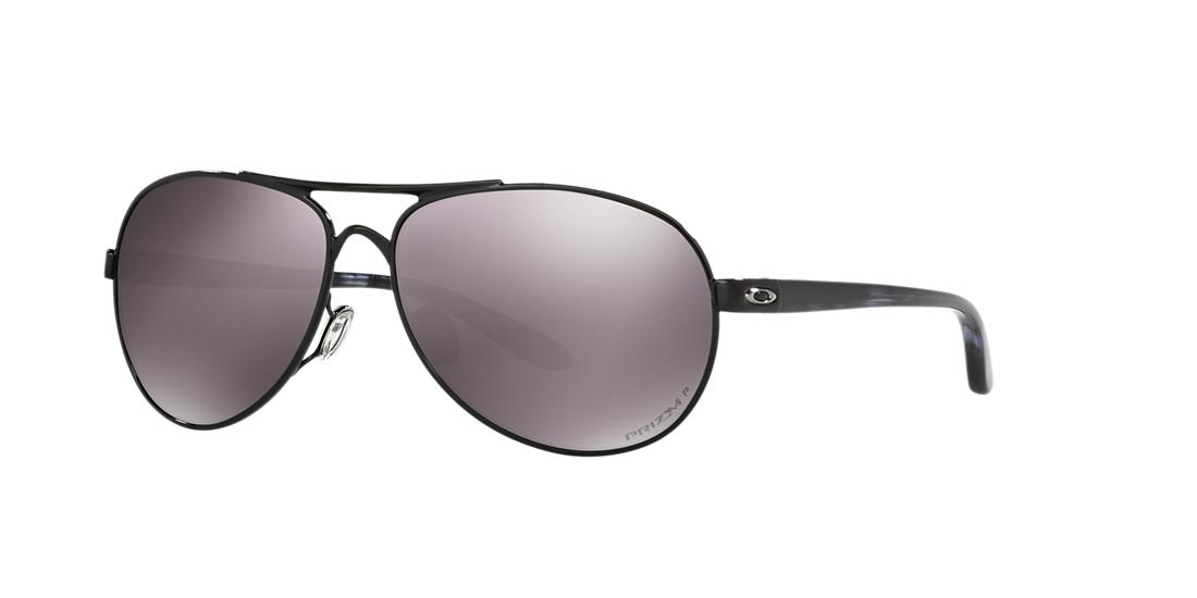 Click here for Oakley Womens Feedback Black Aviator Sunglasses -... prices