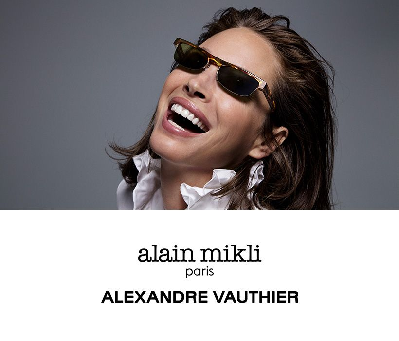 alain mikli x Alexandre Vauthier