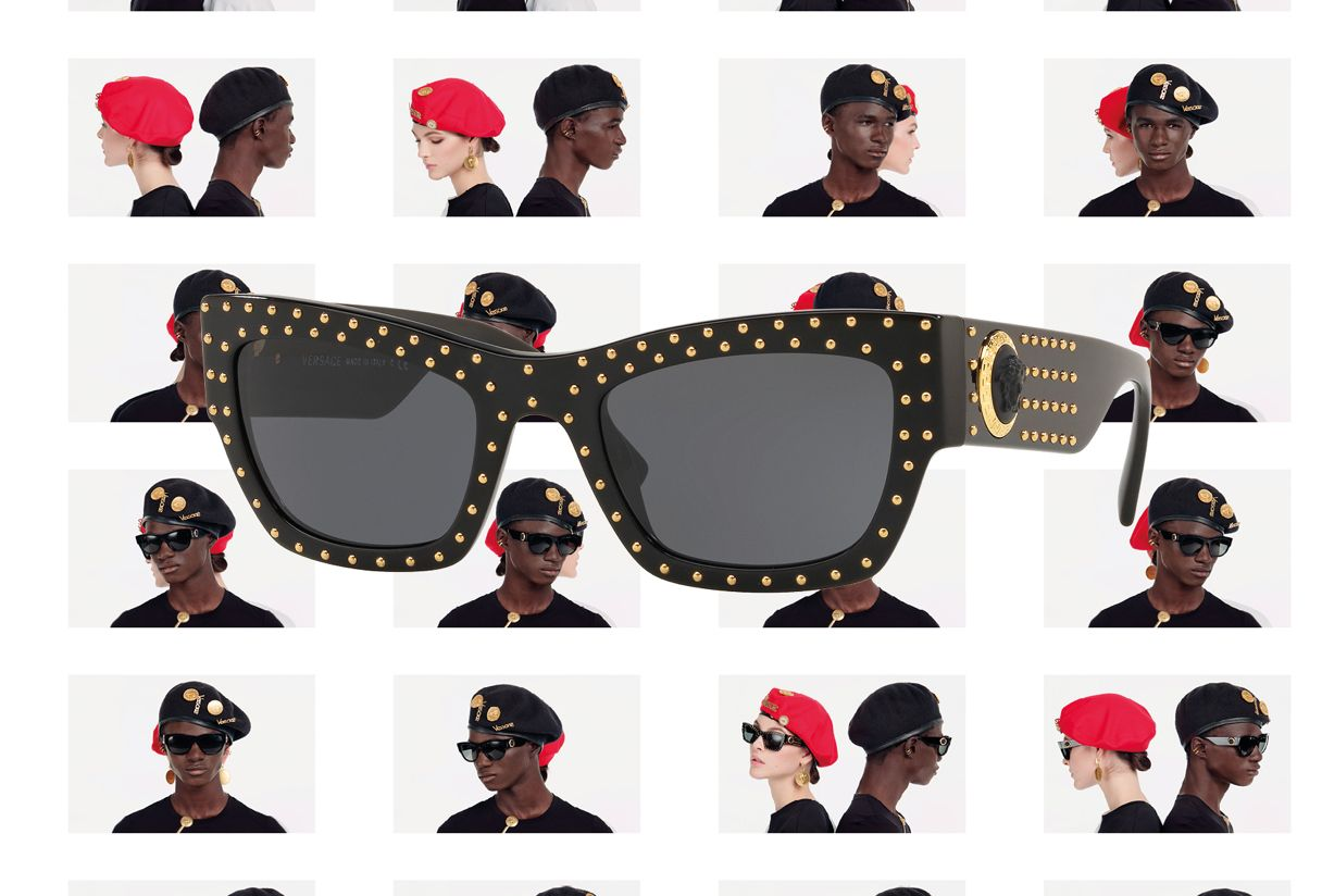 21c28a4aaabb Now available at Sunglass Hut. VERSACE  435.00 Shop Now