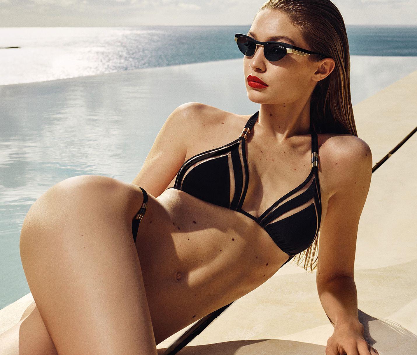 Gigi Hadid For Vogue Shoot